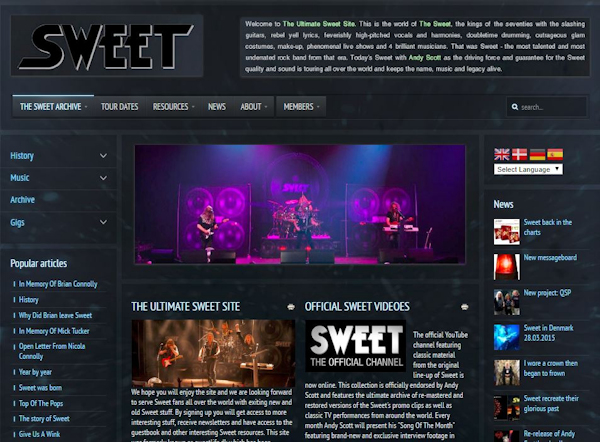 thesweetweb.com former version